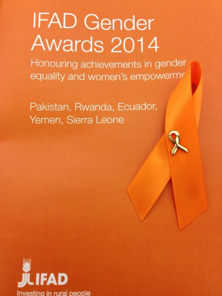 Ready to attend the #ifadgender awards 2014. @IFADnews http://t.co/iaVCy4zzBe