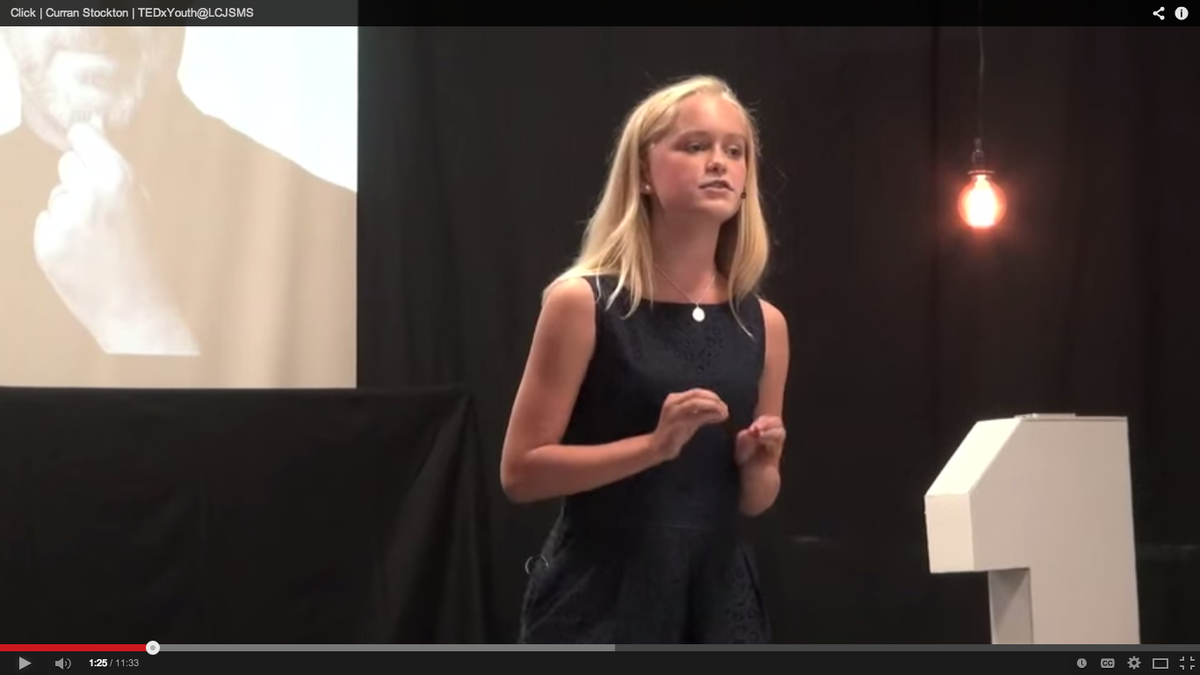 What Students Can Learn from Giving @TEDx Talks ow.ly/ERtkw #edchat #edtech