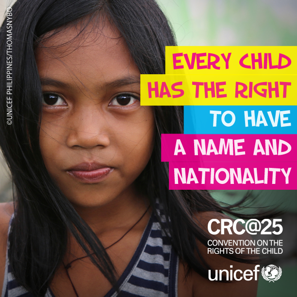 every child has a right to Child rights are based on what a child needs to survive, grow, participate and meet their potential  every child has the inherent right to life,.
