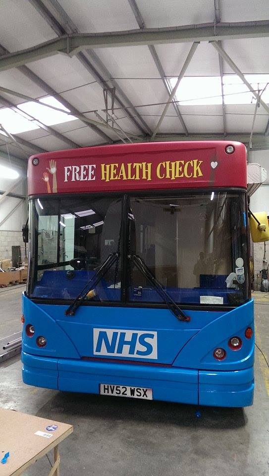 Our health bus is nearly ready to hit the roads... coming soon a town near you...full details will be announced soon! http://t.co/EGVlotTGD9