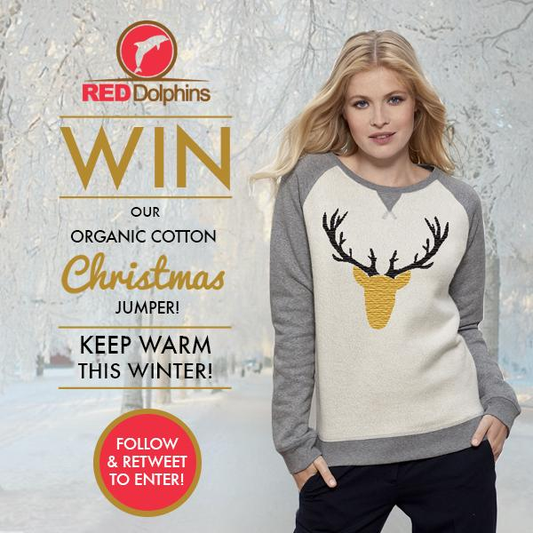 Enter our #COMPETITION to #WIN #REDDolphins Organic Cotton #Christmas Jumper! Follow and RT to #Enter! Goodluck! http://t.co/YC6PNI1JOy