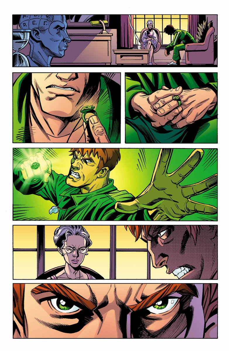 Thrilled to be working with @Hypersteve on GREEN LANTERN CORPS for @DCComics #Convergence: http://t.co/muNUCRmld5 http://t.co/5LdHnjH4TK