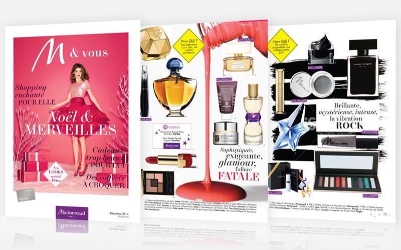 Le numéro de Noël du magazine @Marionnaud_Fr M & Vous vient de paraître, à vos lectures! http://t.co/1PeURJmbsk http://t.co/uScz8iybl3