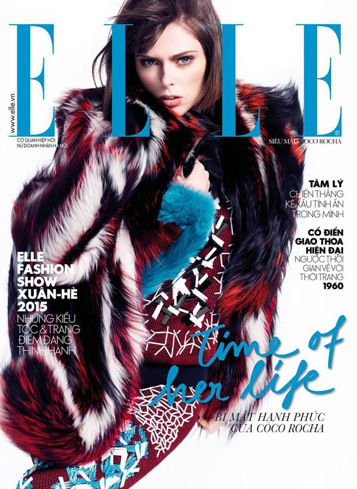 RT @Roberto_Cavalli: The beautiful @cocorocha is Elle Vietnam's November #covergirl wearing a #RobertoCavalliFW14 look! http://t.co/jX8DPfN…