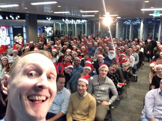 RT @DanClaysblah: So we went early on the #xmasselfie !!! Amazing day @OMD_UK http://t.co/jtrT2FA9FW