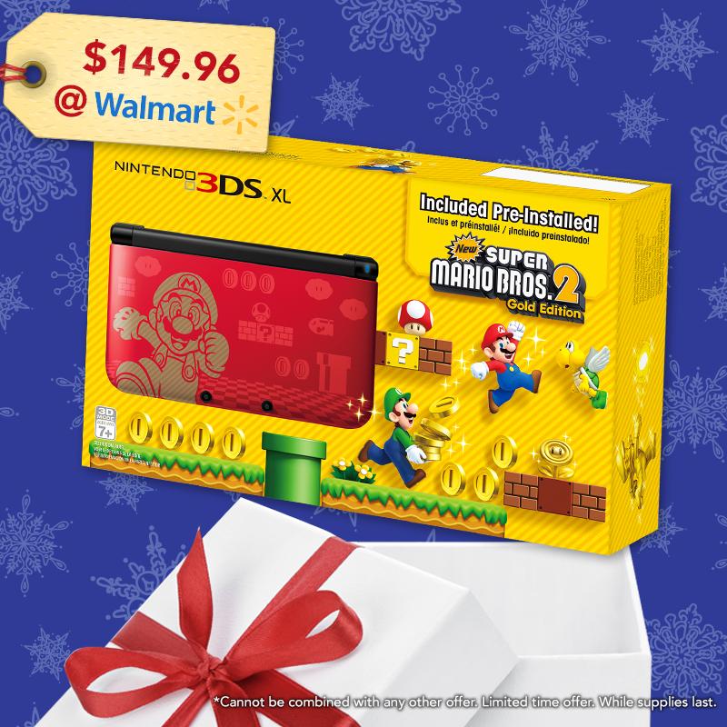 Nintendo Special 3ds Xl New Super Mario Bros 2 Gold Edition