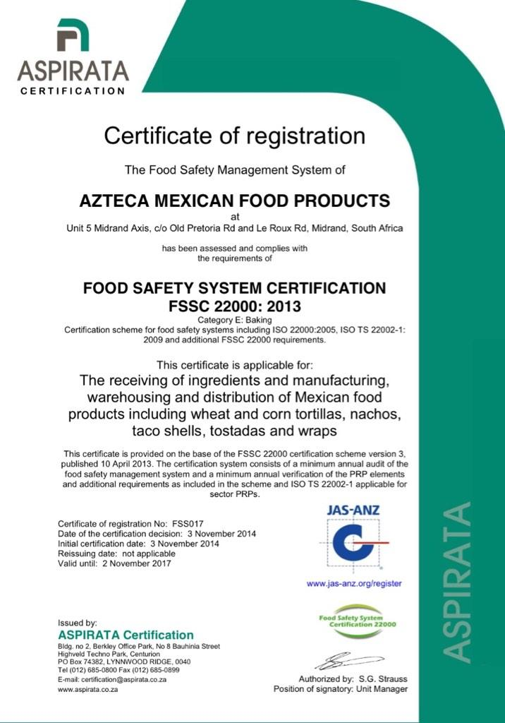 AztecaMexicanFood_ZA on Twitter: