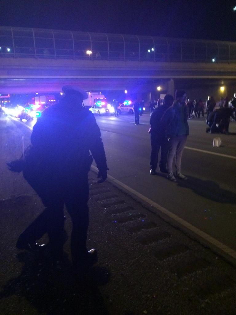People getting arrested  http://t.co/gfYxIKxiYu via @Fox19Brett