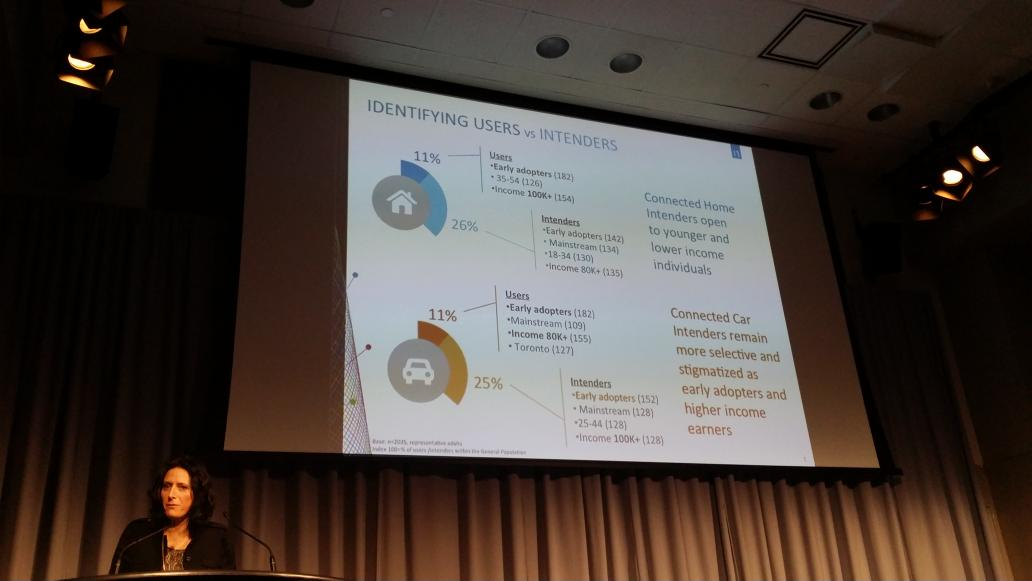 The Canadian Connected Car and Connected home user as per @NielsenCanada #wearewearables http://t.co/dTFArvBvDV
