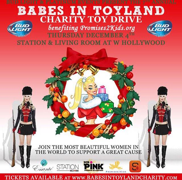 Can't wait to host #BabesInToyland on Dec. 4th with @NikkiLeighxo @Caitlin_OConnor @IrinaVoronina & many others! http://t.co/qhB0ZZ7Dav