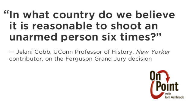 RT @OnPointRadio: As we look beyond #Ferguson, @jelani9 still has a simple question. http://t.co/wej6apZBLl http://t.co/zl9MYIDEhC