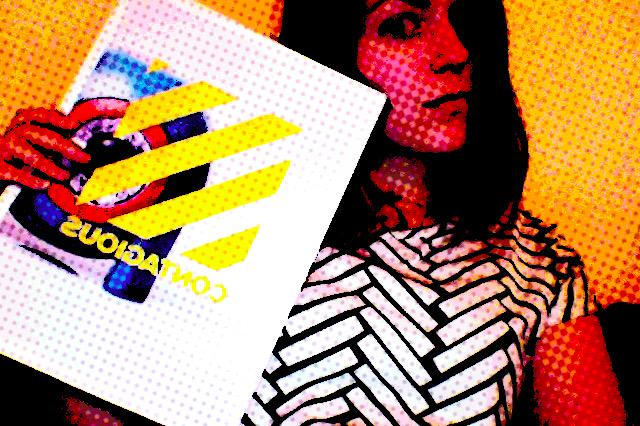 RT @desireemmm: #ContagiousX – Wearing striped clothes to match Contagious since 2008 @contagious http://t.co/I9uP8GguER