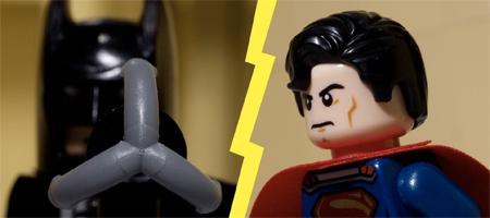 It's LEGO Batman Vs Superman In This Stop-Motion Fight http://t.co/UsBWDPujLs http://t.co/xebAiSIyfu
