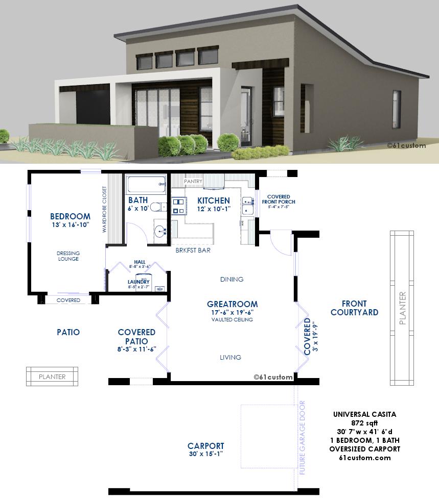 61custom home design 61custom twitter for Universal design floor plans