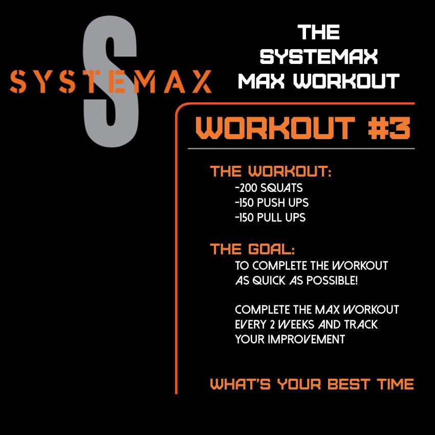 Systemaxworkout hashtag on Twitter