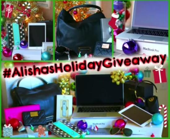 Alishas holiday giveaways