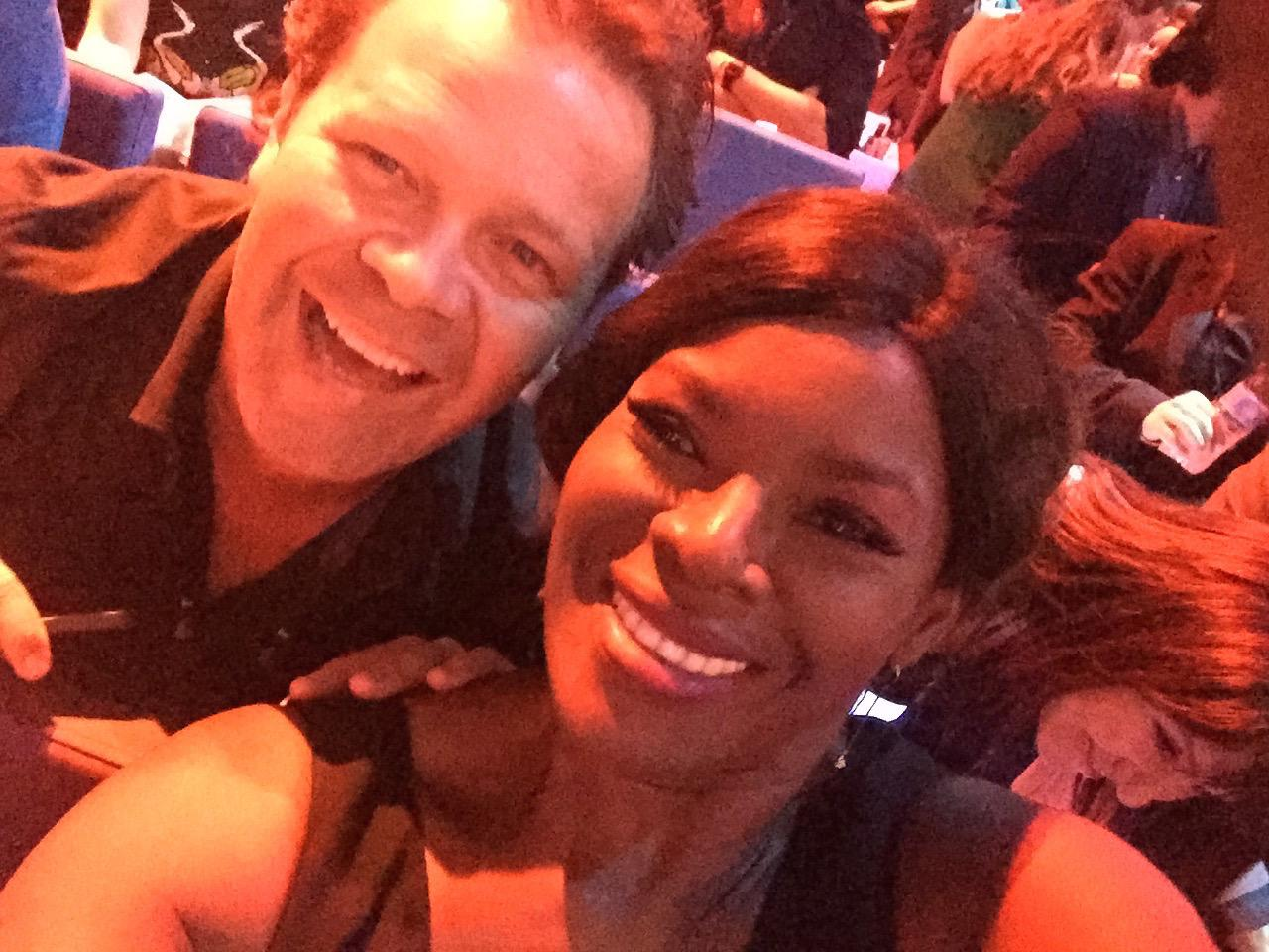 RT @TheMarciaHines: @troycassardaley and I ready for the awards tonight. #ARIAS http://t.co/6xdhhI6mr8