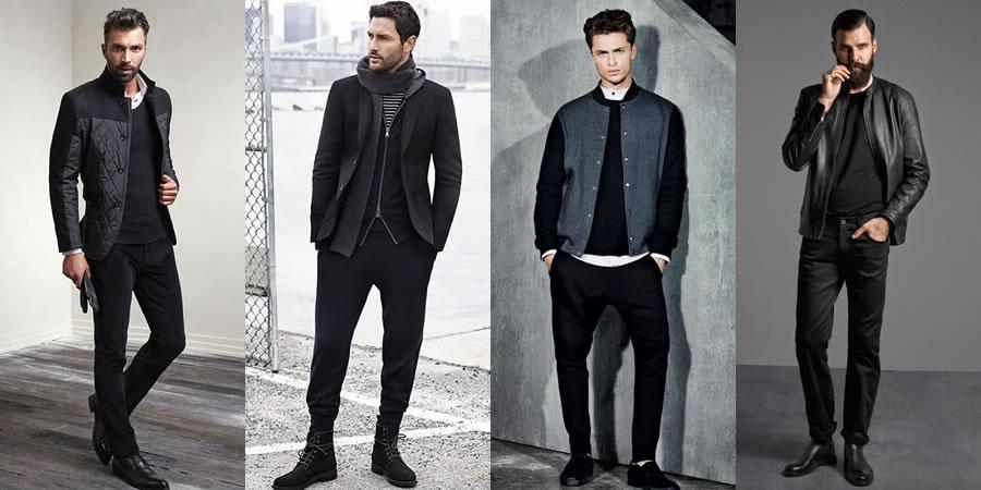 All-black casual outfits are masculine and easy to wear - here's how to pull off the look: http://t.co/7deyZoG8H9 http://t.co/6GBioYf0tq
