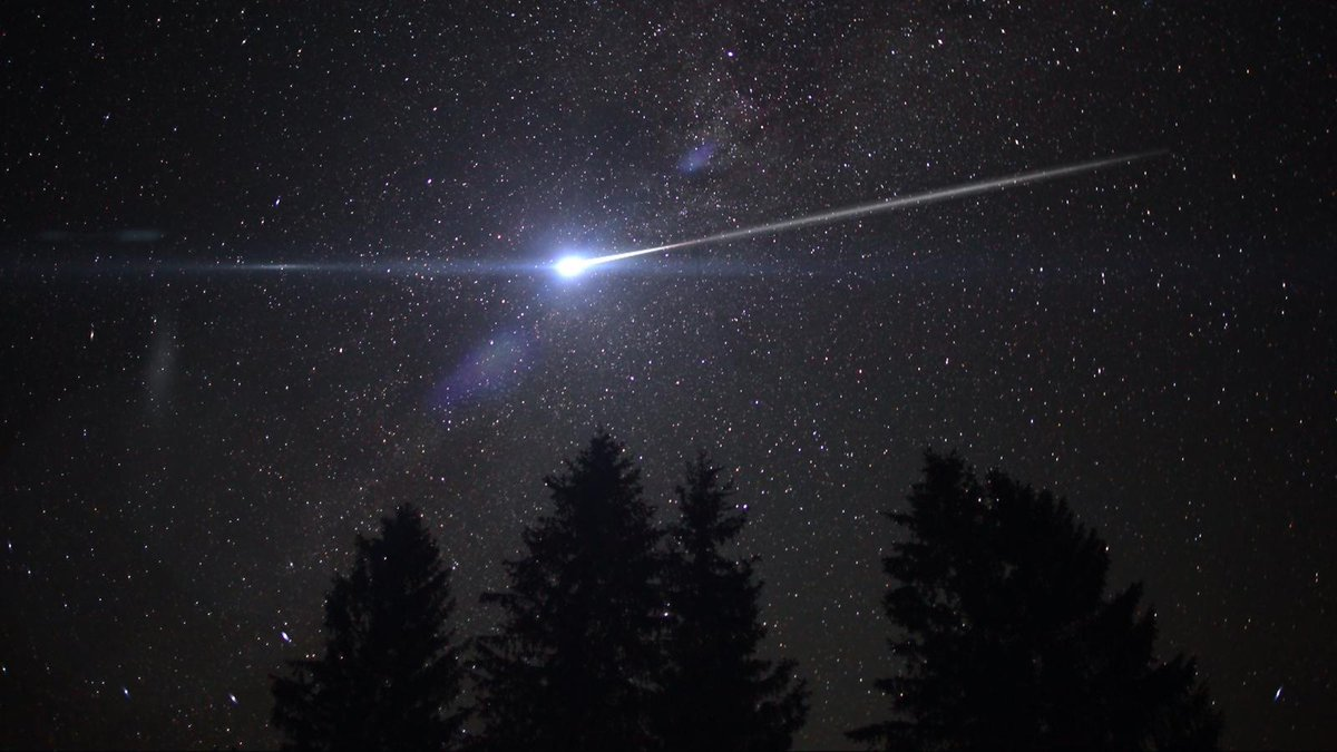 Video del Meteorite a Xilinhot in Cina