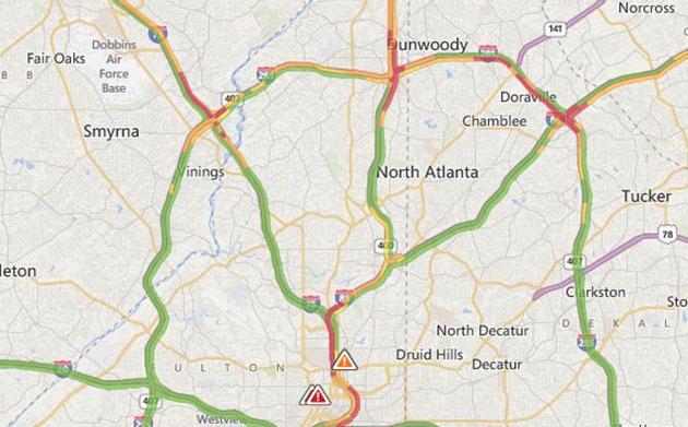 Microsoft rolls out Bing Maps traffic guesstimation worldwide
