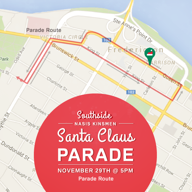 Don't miss the Nasis Kinsmen Santa Claus Parade this Sat, Nov 29 at 5PM #bringitdowntown http://t.co/f7r4CRGj0h
