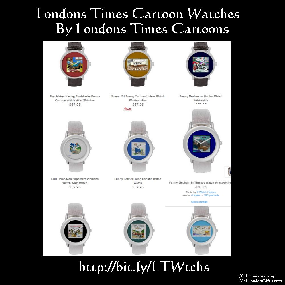 Google #1 rnkd #funny @LTCartoons #Watches  #humor #gift #jewelry #zazzle