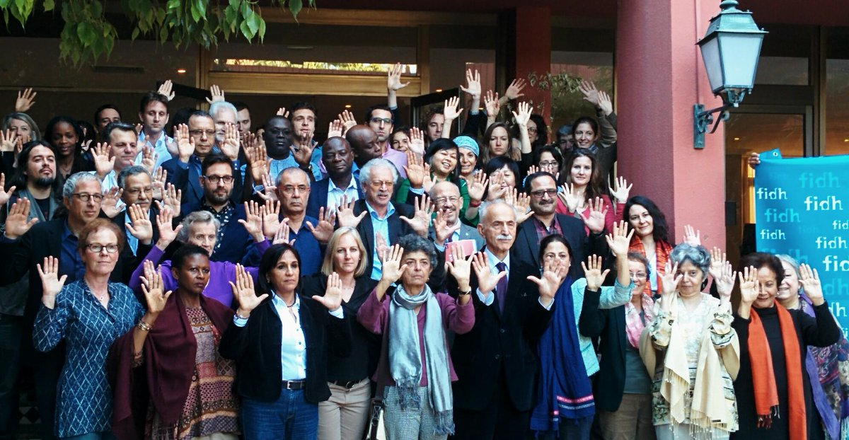 Thumbnail for FIDH International Board meeting in Morocco