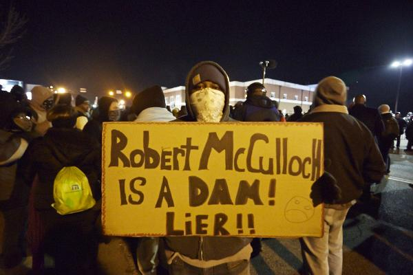 Bob McCulloch was a member of Obama's truth squad in 2008