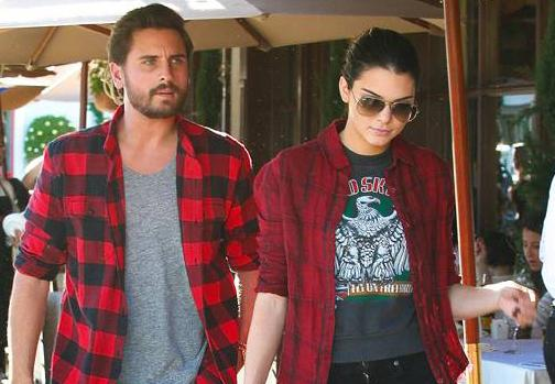 #KendallJenner & #ScottDisick experiment with matching outfits in Beverly Hills! http://t.co/NlENSNIw85 http://t.co/4W0d2e2IRY