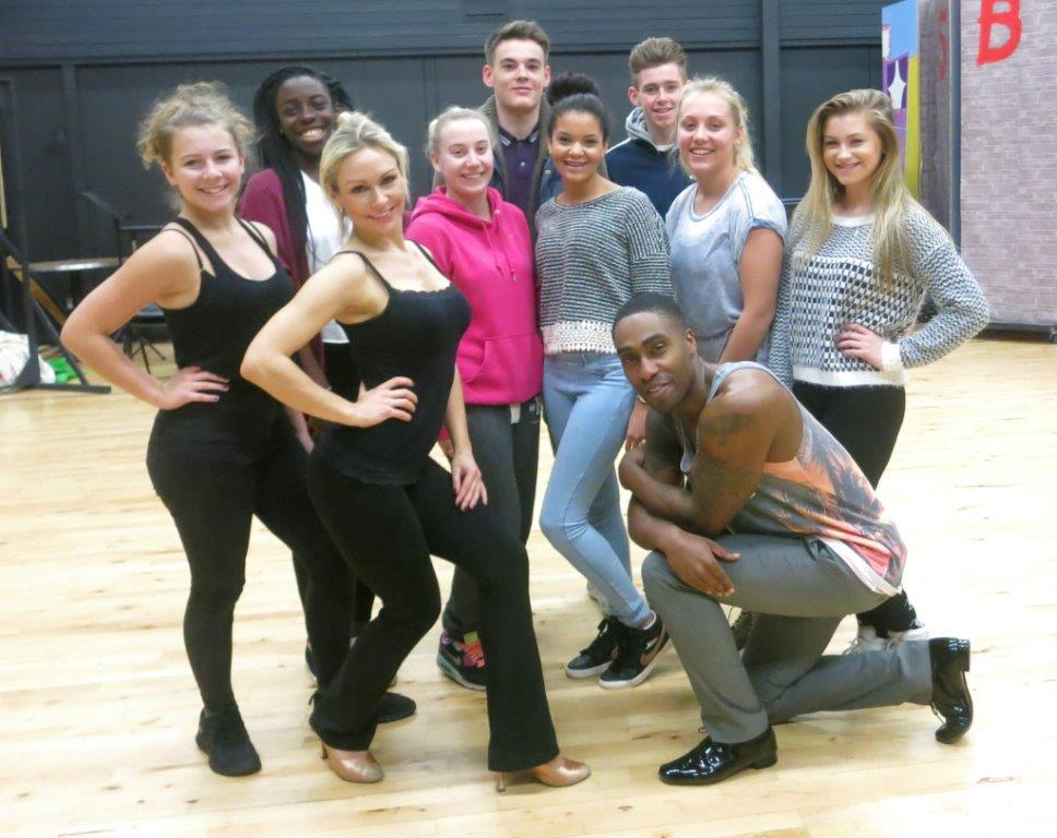 RT @WokingCollege: .@simonwebbe1 & @KRihanoff also took the time to meet our #dance students! Let's all vote for them!!! #Strictly http://t…