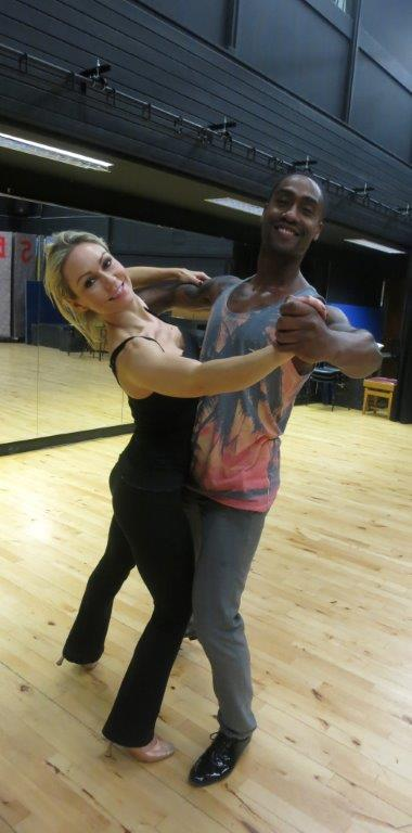 RT @WokingCollege: .@simonwebbe1 & @KRihanoff dropped in to Woking College to polish their @bbcstrictly routines... #StrictlyComeDancing ht…