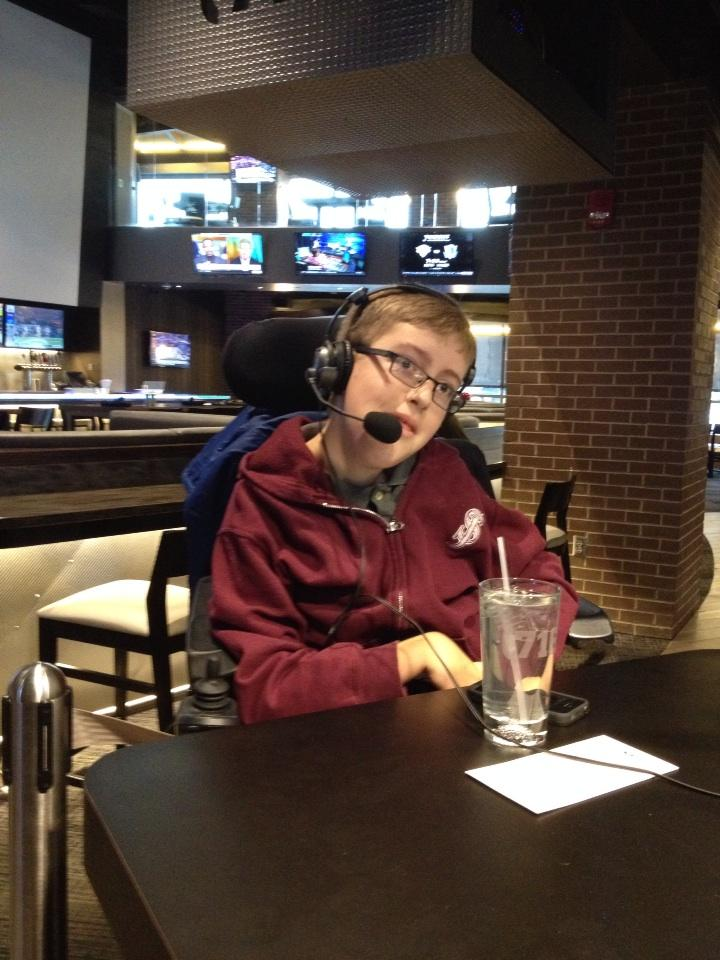 Our friend Patrick joining us on the air @SabresHotline http://t.co/SUtSGYuuv7