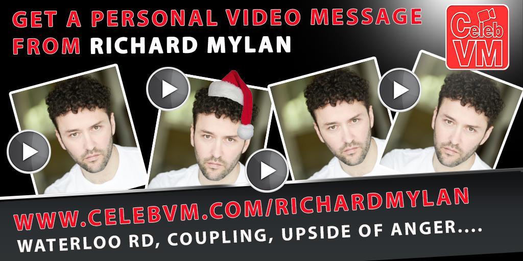 RT @CelebVM: Get a Personal Video Message from Waterloo Rd's @RichardMylan http://t.co/NjQEWdSf21  #WaterlooRoad #Coupling http://t.co/0XJQ…