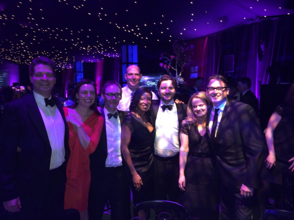 Team JWT with a few of our lovely clients at @TheMarketingSoc dinner http://t.co/XSwQX9xJUy