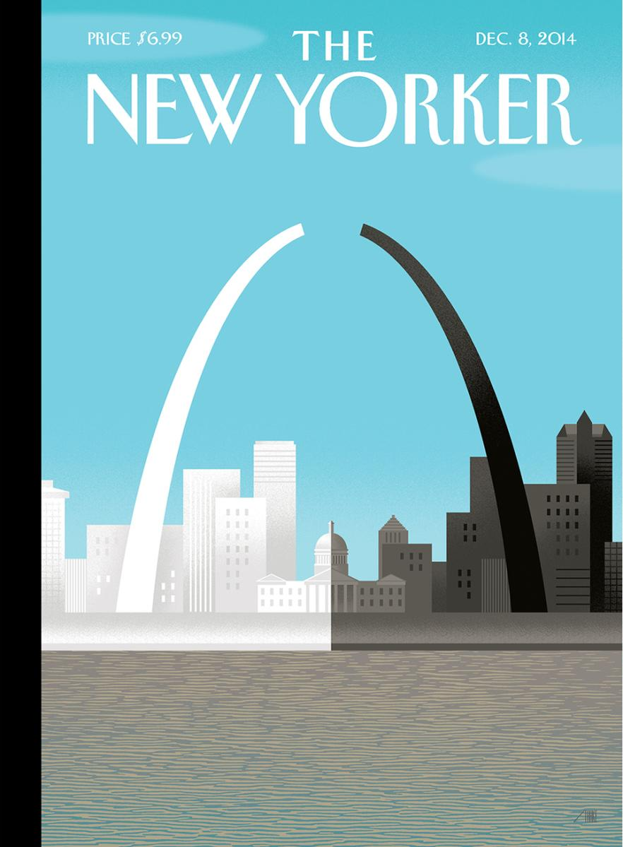 What do you think of The @NewYorker's #Ferguson/#STL cover? http://t.co/GlBMFwQX8f http://t.co/jXam6ono7l