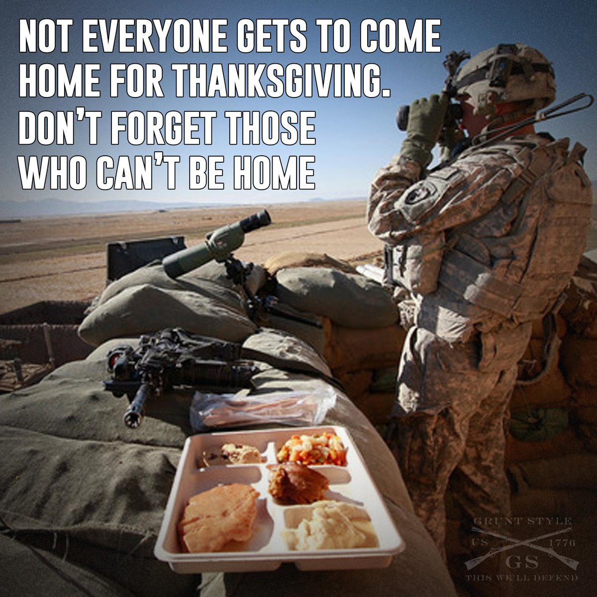 Remember those who can't celebrate with their families. Never Above you Never below you Always besides you http://t.co/ibMJjCQama