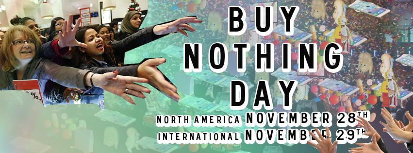 Buying nothing is the new black (Friday). #buynothingday #BND14 #BlackFriday https://t.co/epBjkbownA http://t.co/lUQGOFxDOO