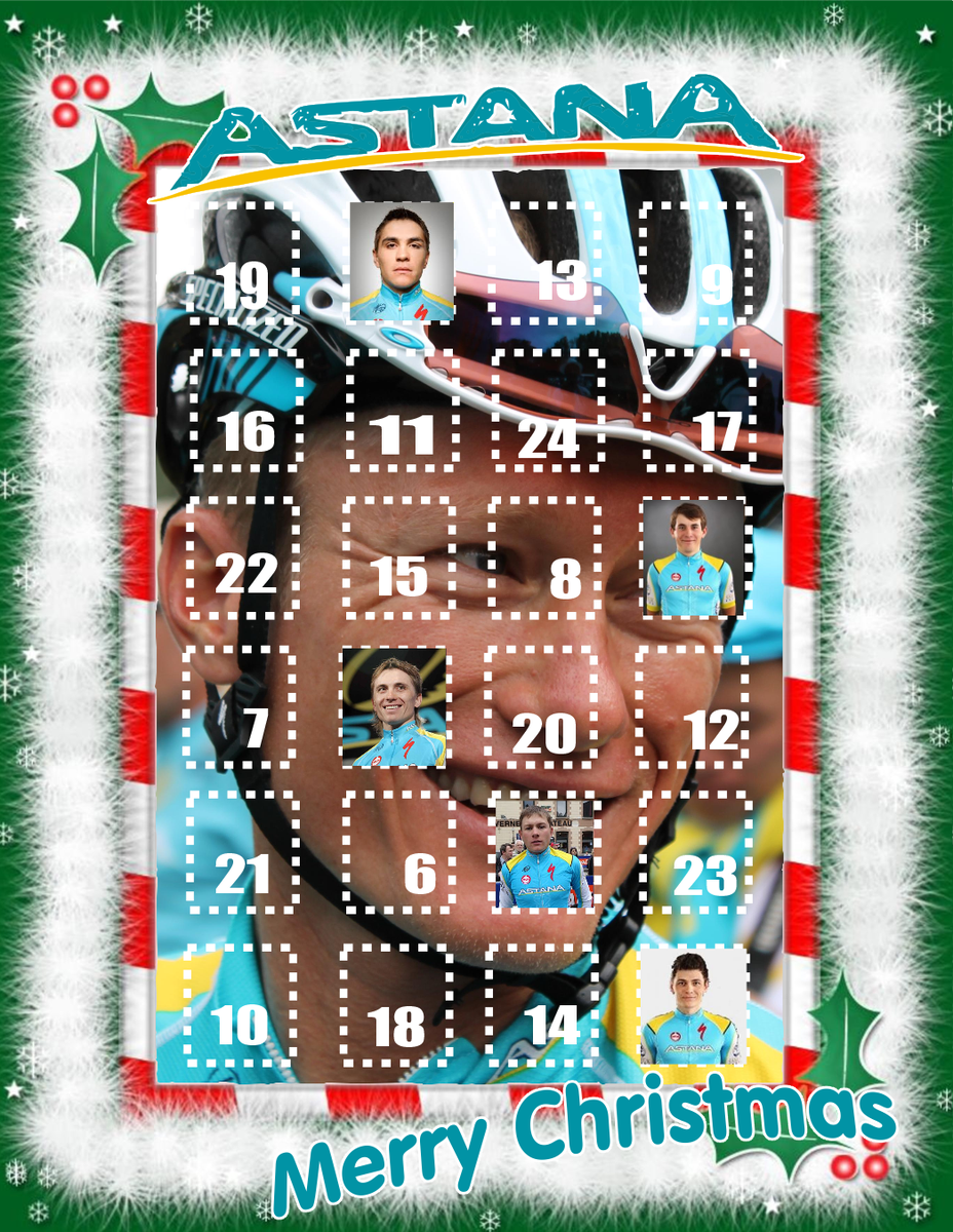 EXCLUSIVE: Astana release 2014 Advent Calendar http://t.co/OAkV6GY7Pf
