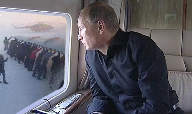 """""""Ни х#я, все хотят домой"""", - пассажиры российской авиакомпании вынуждены толкать самолет на взлетную полосу - Цензор.НЕТ 3858"""
