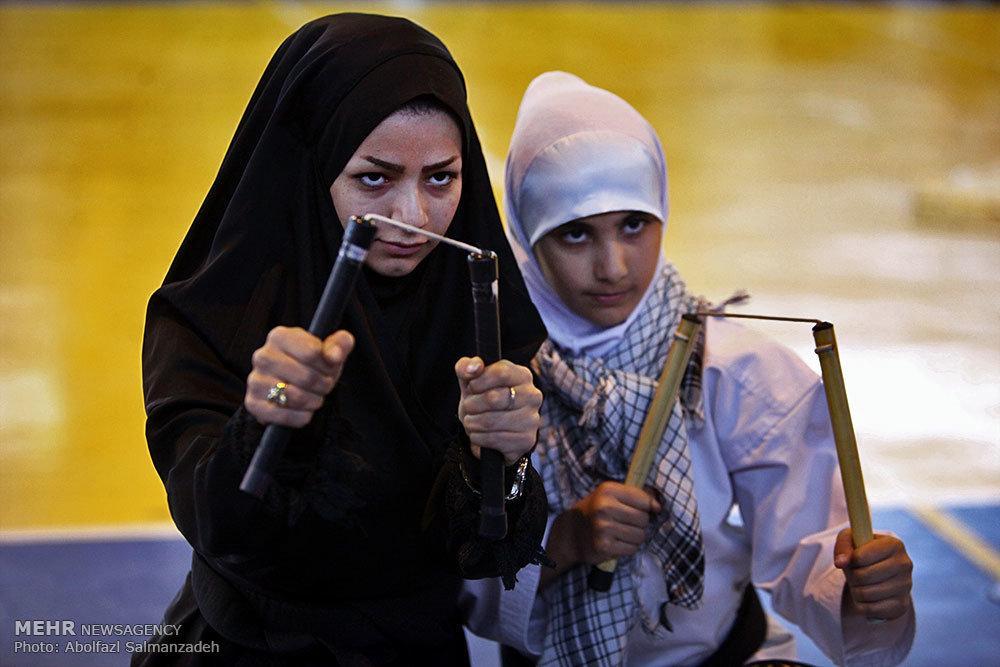 جشنواره #ورزشی ریحانة النبی #بسیج. ورزشهای #رزمی و #زنان http://t.co/Sqj4FoE8U7