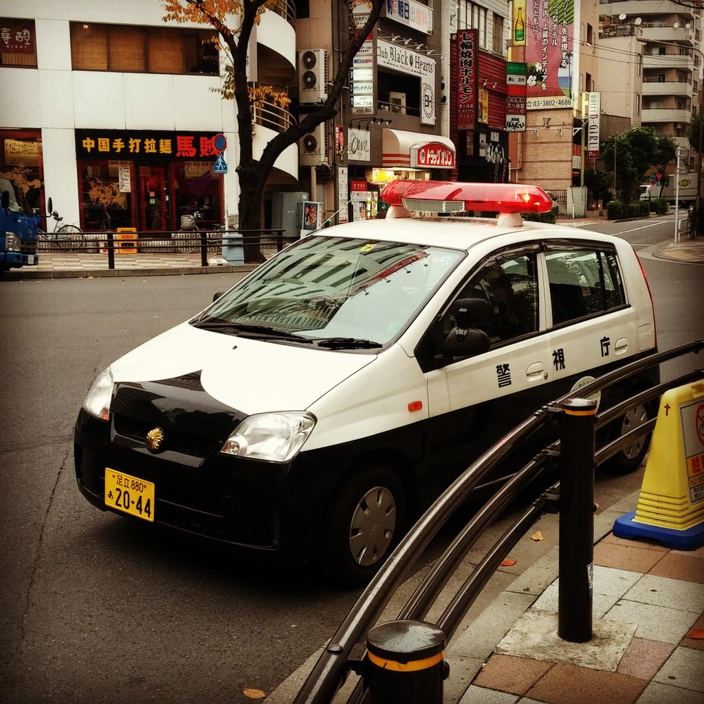 """Bling Up on Twitter: """"#cute #Japanese #police #car #Tokyo ..."""
