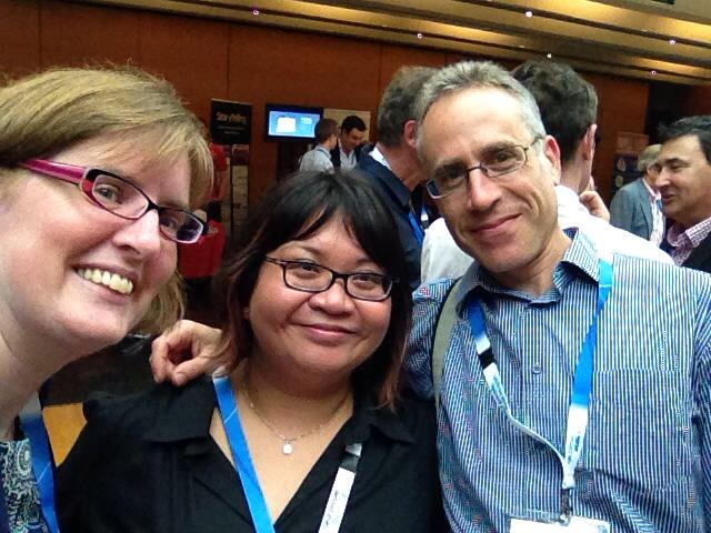 iiexap14 self with Lisa and Mike