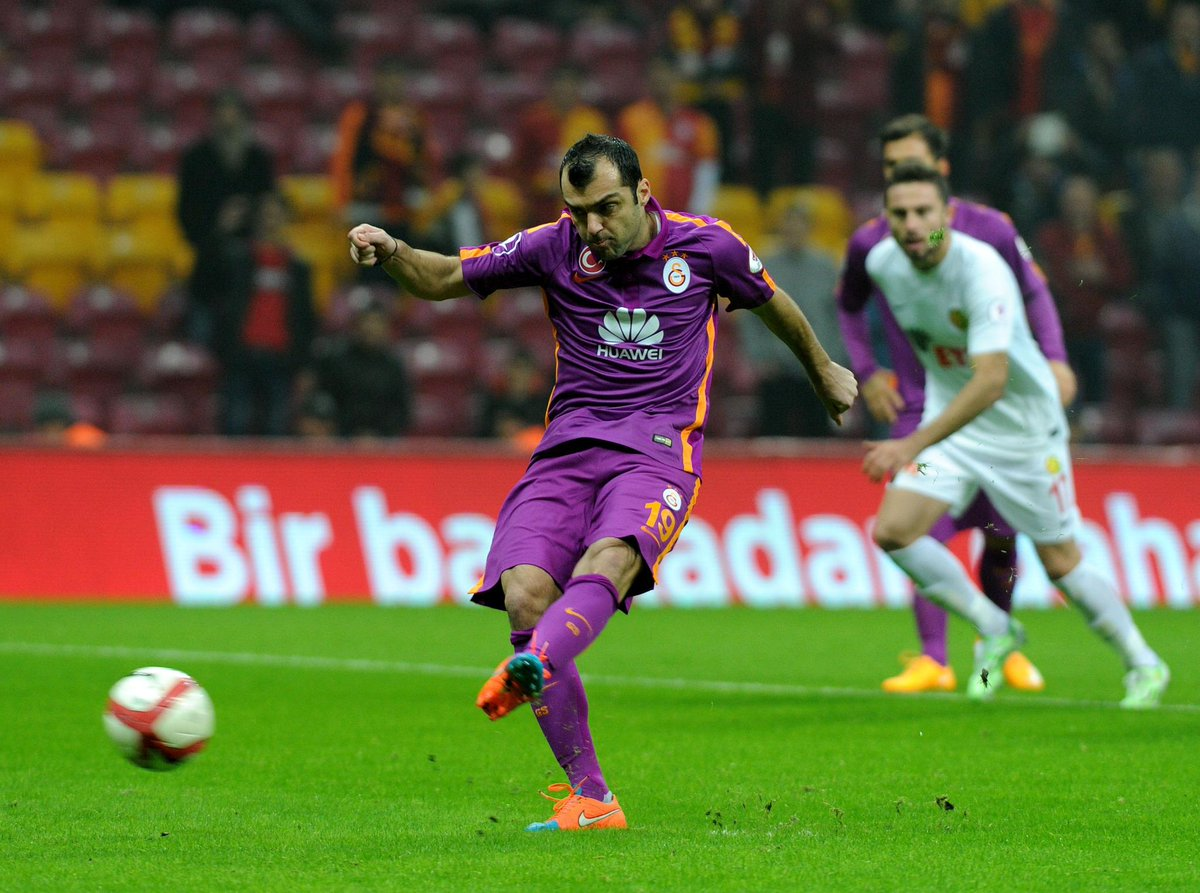 Pandev takes a penalty that was saved