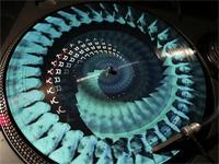 """""""Motion-vinyl""""—Animated Picture Disc 