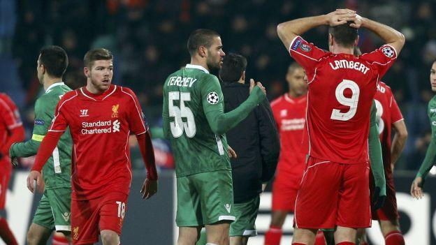 VIDEO Highlights Ludogorets 2 – 2 Liverpool [Champions League]