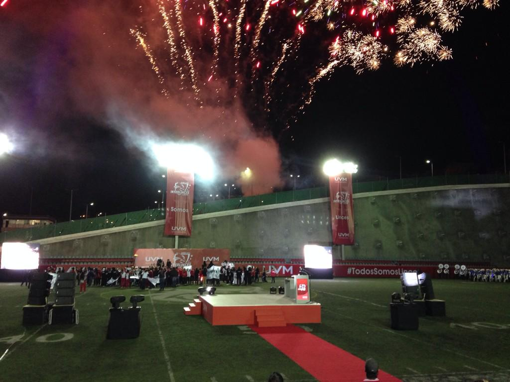 El evento deportivo más grande de la comunidad UVM #Interlinces2014 http://t.co/KdhY1GwShr