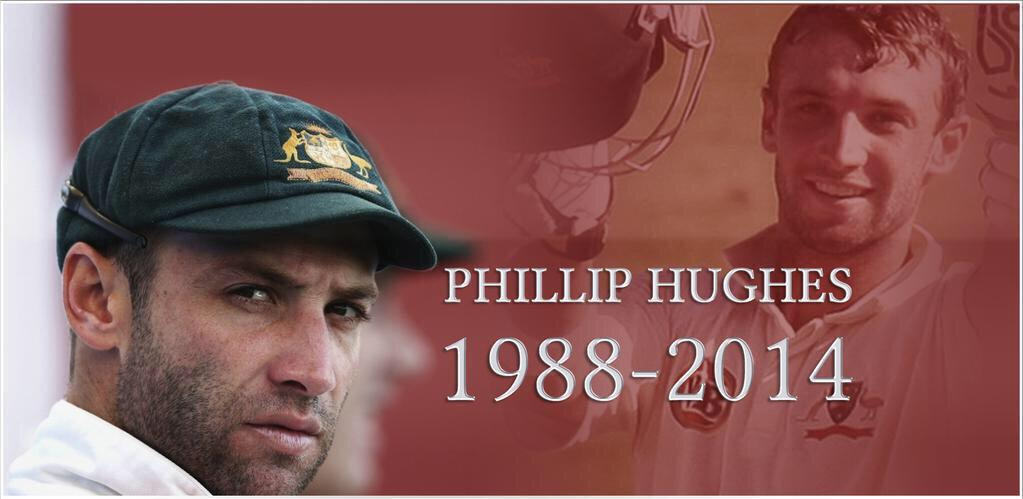 Absolutely sick to my stomach... Heartbreaking. Not only a champion cricketer but an even better bloke #RIPHughesy http://t.co/BvwcHJcKNP