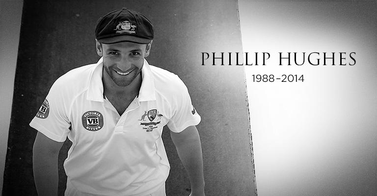 A beautiful tribute on a sad, sad day. The Country Boy who chased his Baggy Green dream #408 http://t.co/KDJMAn7xMi http://t.co/INiWZ7MLAi