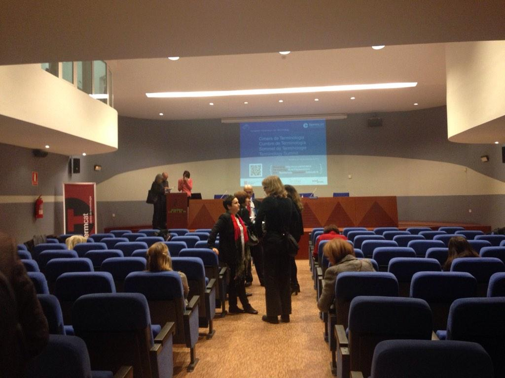 #EAFTSummit2014 Everything ready to start. Tot a punt @termcat @ferranmascarell @EsterFranquesaB http://t.co/uzJEIbaut5