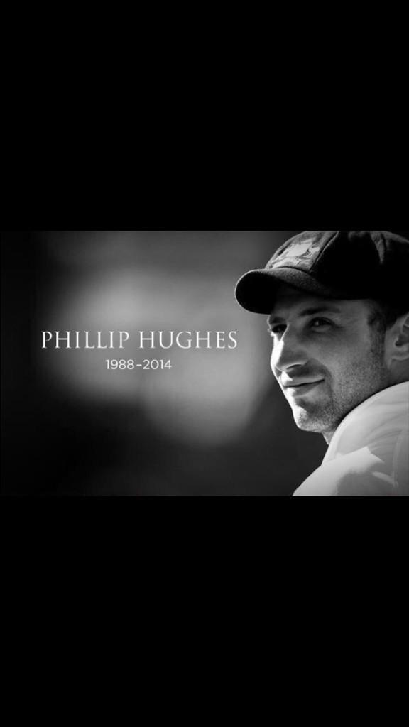 Such a tragic loss ! RIP #RIPPhilHuges http://t.co/5AEsAWNGBO
